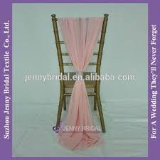 chiffon chair sash sh043j chiffon ruffled chair cover cheap wedding blush chair