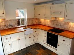 Kitchen Cabinets Painted White Awesome Painted Knotty Pine Kitchen Cabinets 124 Painted Kitchen