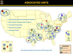 Fort Benning Map Pilot Program Links Reserve Components With Active Units For
