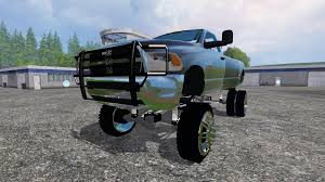 Dodge 3500 Lifted Trucks - dodge ram 3500 lift for farming simulator 2015