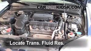 2003 honda civic ex parts transmission fluid level check honda civic 2001 2005 2001