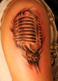 mic tattoo by defpattern on deviantart