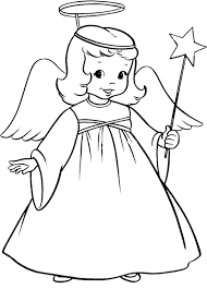 coloring page coloring page angel christmas 03 coloring page