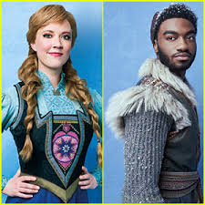 anna from frozen hairstyle broadway s frozen debuts new anna kristoff song what do you