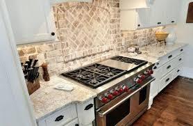 kitchen backsplash paint ideas skinjarsite painting brick backsplash kitchen kitchen brick veneer