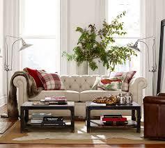 living room media nl pottery barn chesterfield sofa henley rug