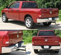 dodge ram trailer hitch hitch stair with 2 steps for 2 trailer hitches dodge ram