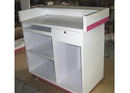 style cash wrap counter with drawer white retail store checkout