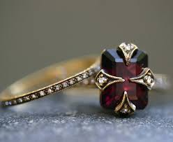 thin garnet ring google search clothes and fashion pinterest