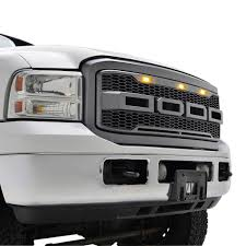 american flag jeep grill 05 07 ford f250 f350 raptor style packaged grille