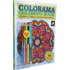 as seen on tv colorama coloring book walmart com