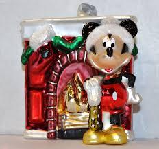 disney blown glass ornaments mickey