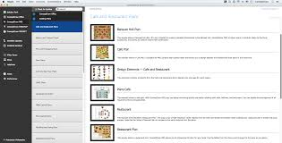 restaurant floor plan online