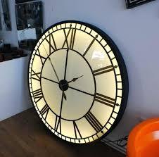 lighted digital wall clock revealing illuminated wall clock india moneyfit co