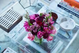coffee table floral arrangements the power of petite flower arrangements flat 15 design lifestyle