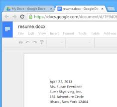 Resume To Google Uploading Files To Google Drive Tutorial At Gcflearnfree