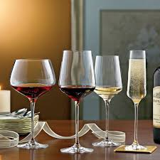 wine glasses complete fusion infinity wine glass collection set of 16 wine