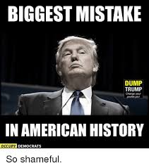 Profile Picture Memes - biggest mistake dump trump change your profile pic in american