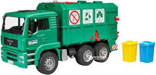 bruder garbage truck rozetka ua мусоровоз bruder man tga 1 16 02753 цена купить