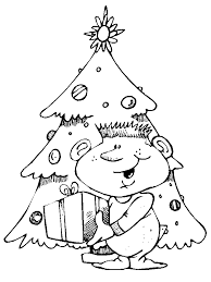 christmas tree coloring pages coloring book 11 free printable