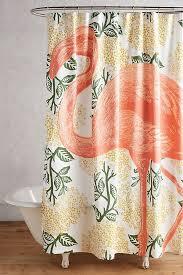Flamingo Shower Curtains Flamingo Shower Curtain Anthropologie
