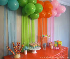 Cool Balloon Birthday Decoration Ideas Artistic Color Decor