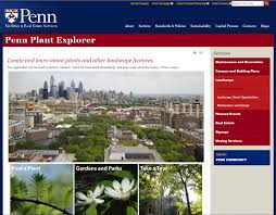 Upenn Campus Map Penn Plant Explorer Penn Green Campus Partnership