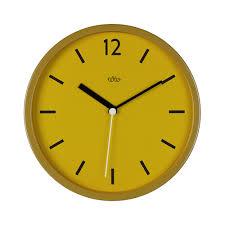 buy wild u0026 wolf wall clock 30cm english mustard amara