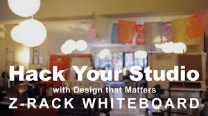 hack your studio how to build a z rack whiteboard youtube