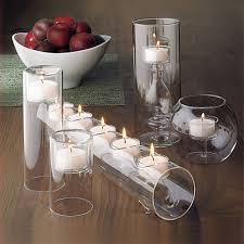 bougeoir mariage 5 pcs ensemble moderne en verre bougeoir cristal chandeliers pour