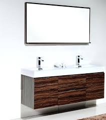 cheap double sink bathroom vanities cheap double sink vanity bliss walnut wall mount double sink modern