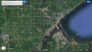Satellite Map Usa Duluth Minnesota Map