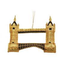 tower bridge ornament
