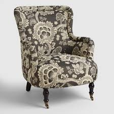 Living Rooms Chairs Accent Living Room Chairs Arm Slipper Chairs World Market