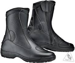 mens black motorcycle riding boots sidi traffic air men u0027s vented motorcycle boot discontinued