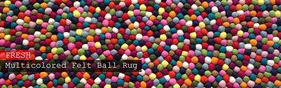 Nepal Felt Ball Rug Handmade Felt Ball Rugs U0026 Wholesale Felt Ball Felt Ball Rugs Nepal
