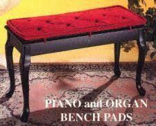 Organ Bench Piano Bench Cushions U0026 Pads Several Styles U0026 Fabrics