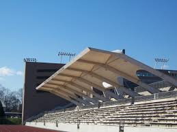 Track Canopy by Sports Complex Fabric Architecture Fabric Structures