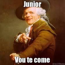 Junior Meme - junior vou te come meme criarmeme com br