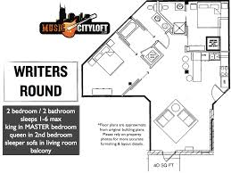 property floor plans writers round music city loftmusic city loft