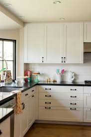 White Kitchen Cabinets And Black Countertops White Kitchen Cabinets With Black Hardware Morespoons 26d05ea18d65