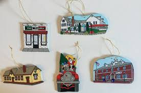 new canaan historical society ornaments now on sale