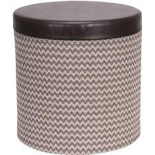 cheap large round storage ottoman find large round storage