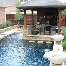Backyard Landscaping Ideas With Above Ground Pool Backyard Pool Landscaping Idea U2013 Bullyfreeworld Com