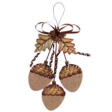 thanksgiving wall decorations thanksgiving fall burlap metal acorn cluster hanging sign wall