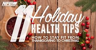 11 health tips how to stay fit from thanksgiving to