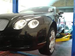bentley continental engine convinced my manager he had blown the engine on a bentley