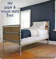 Pottery Barn Iron Bed Diy Furniture Get The Free Project Plans To Make This Industrial