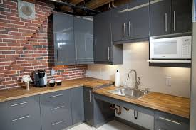 Fake Exposed Brick Wall Tiles Backsplash Kitchen Brick Backsplash Size Faux Veneer Thin