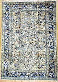 Handmade Iranian Rugs Mashad Persian Rug 8 U0027 8